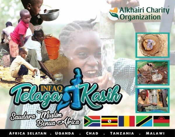 Infaq Telaga Kasih Benua Afrika